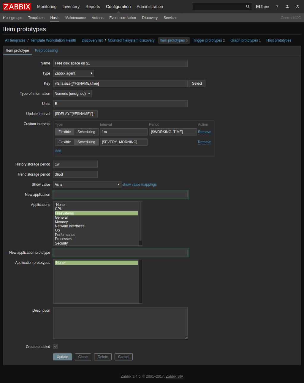 Whats New in Zabbix 3.4