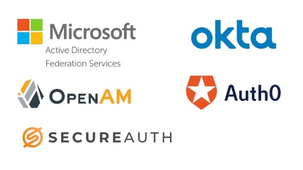 Microsoft ADFS, OpenAM, Secureauth, Auth0