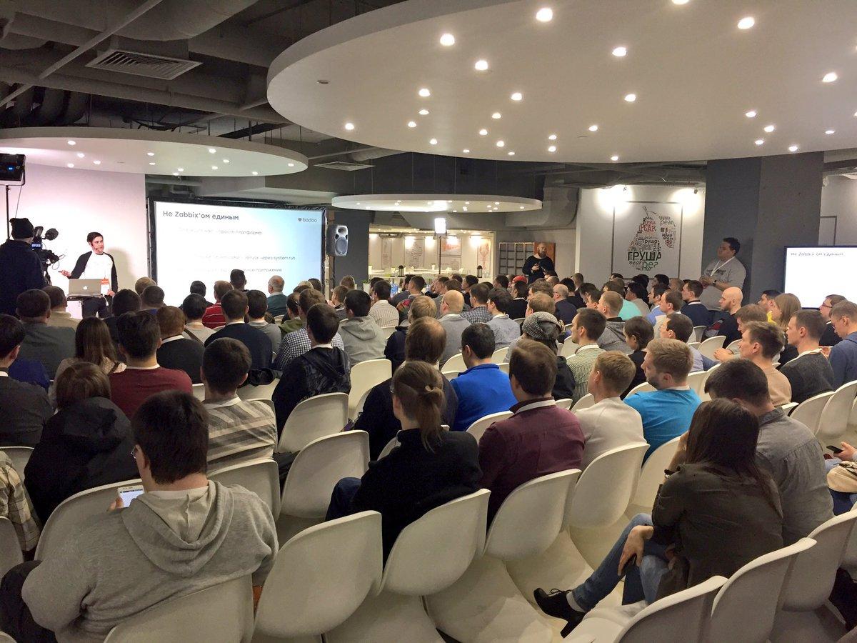 Zabbix Meetup - Moscow 2017, Badoo