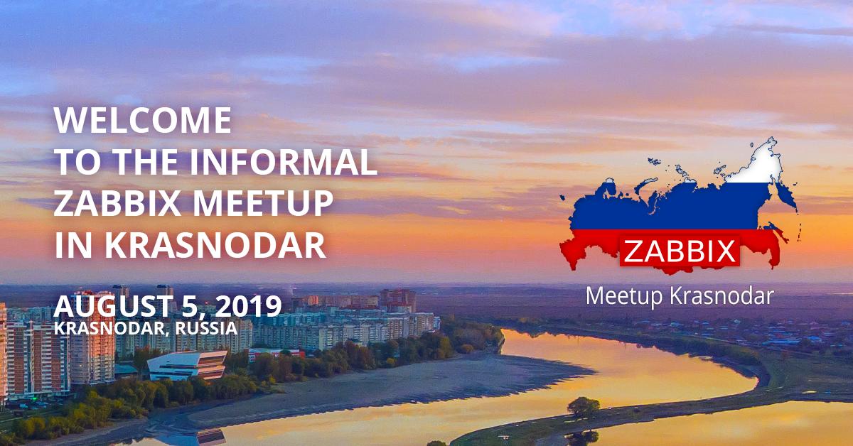 Zabbix Meetup Krasnodar 2019