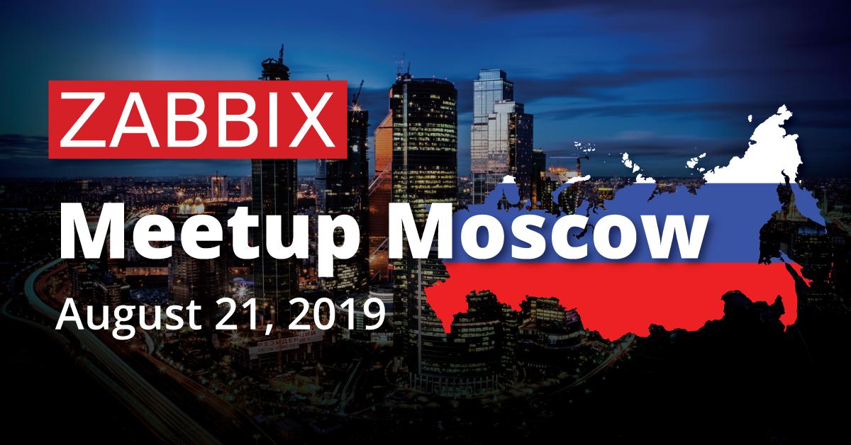 Zabbix Meetup Moscow 2019