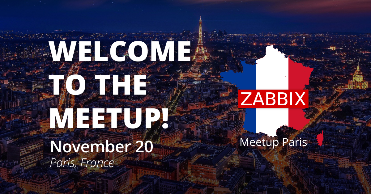 Zabbix Meetup Paris 2019