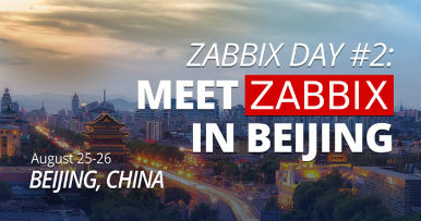 Zabbix Day China #2 - Beijing 2018o