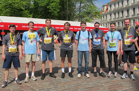 Zabbix at Nordea Marathon 2014