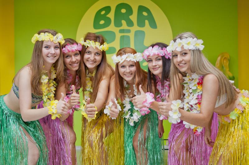 Hawaiian Welcome Party