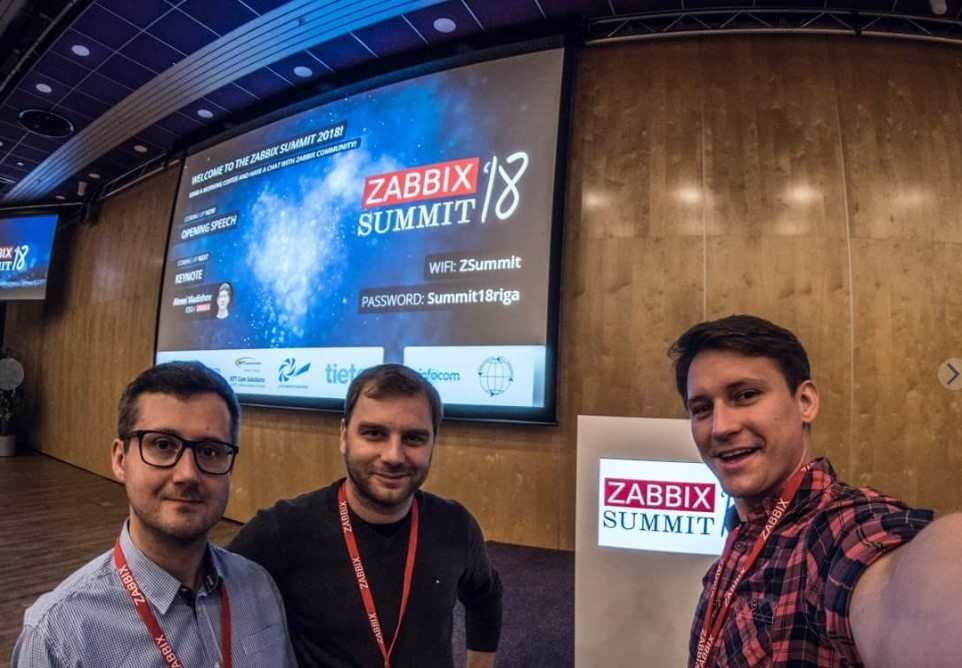 Zabbix Summit 2018 - Pics from community